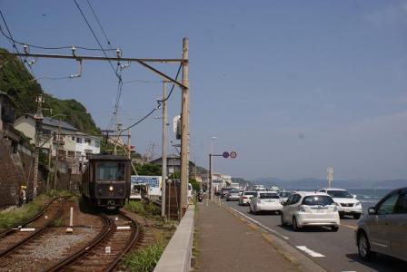 鎌倉高校~七里ガ浜間
