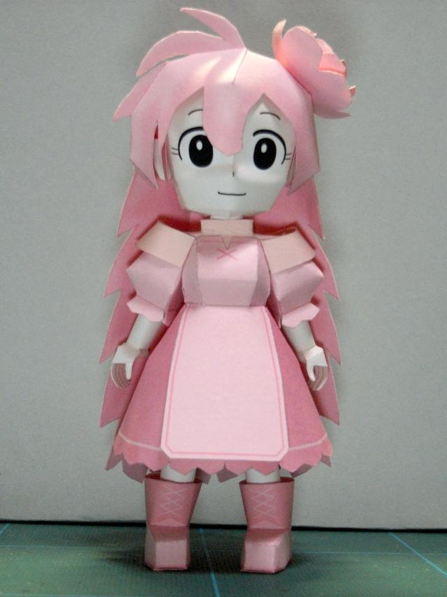 Mona-chan Papercraft