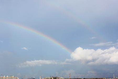 2012年夏の虹