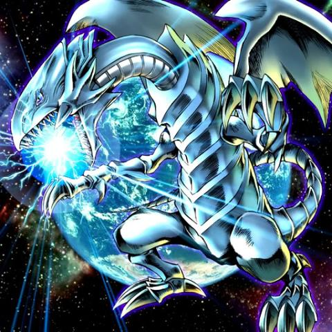 Blue-Eyes White Dragon (New Art)2
