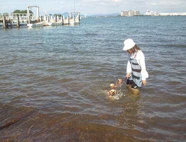 ハーヤさんちの海水浴1