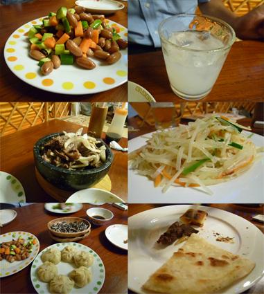 モンゴル料理1