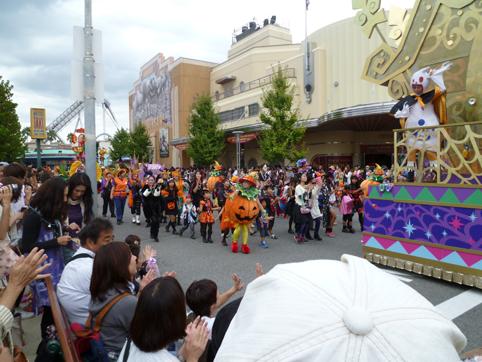 パレード参加