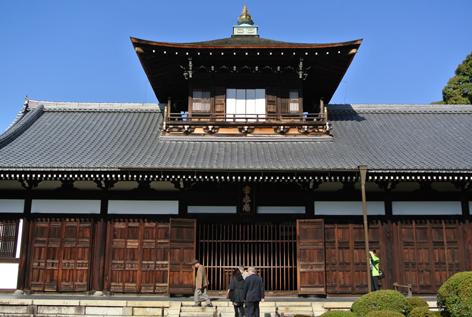 東福寺の奥に