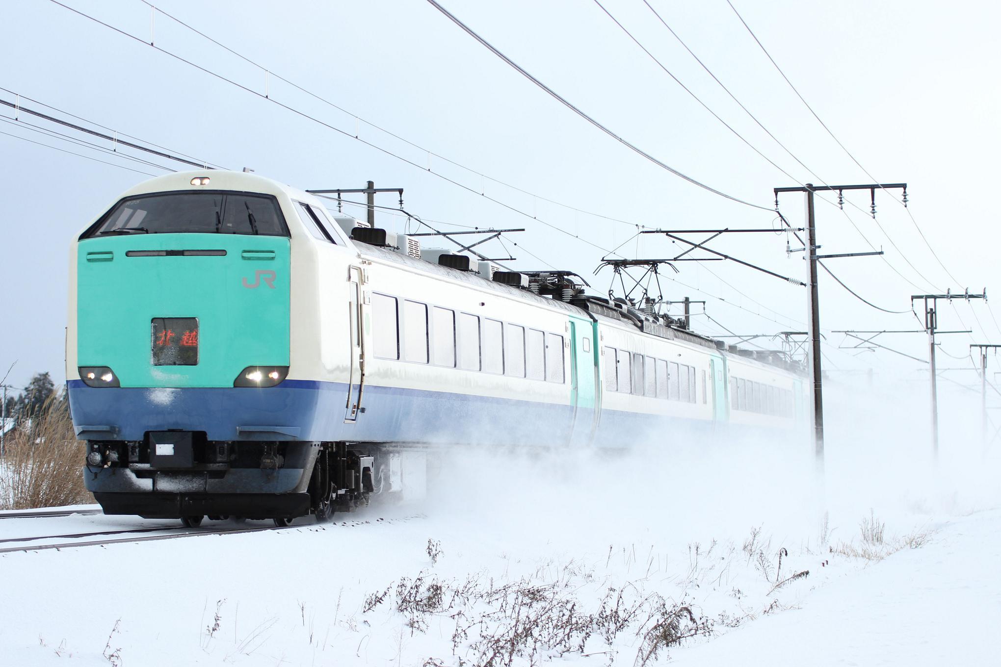 Fw:の鉄道日誌 12月28日:くびき...
