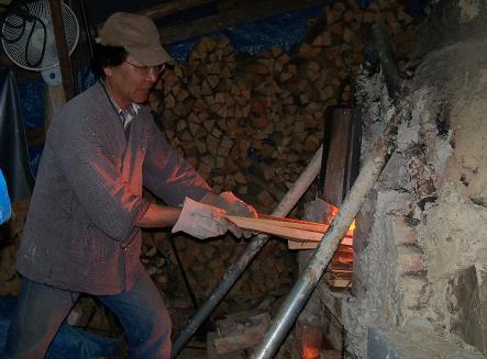 2012年6月薪窯窯焚き