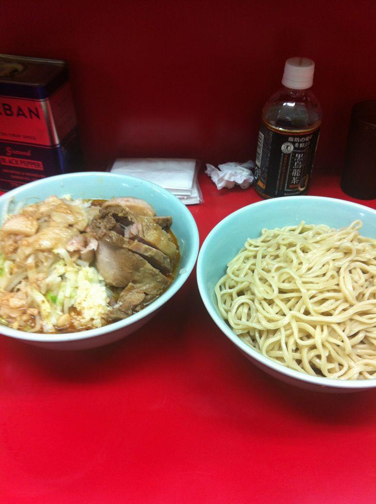 中山限定つけ麺 横