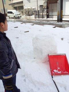 雪だるま つくろ~