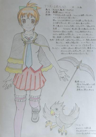 フェアリーテイル オリジナル魔導士コンペ(ブログ用)