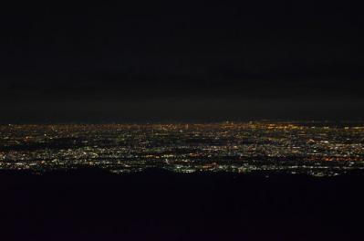 塔ノ岳の夜景
