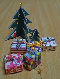 ツリーとプレゼント1123