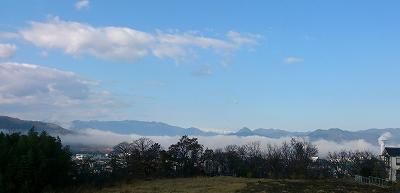 20141128朝の霧