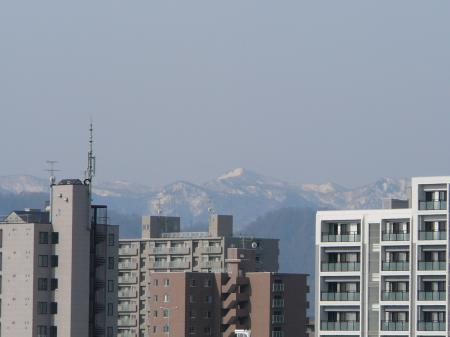 狭薄山か札幌岳?