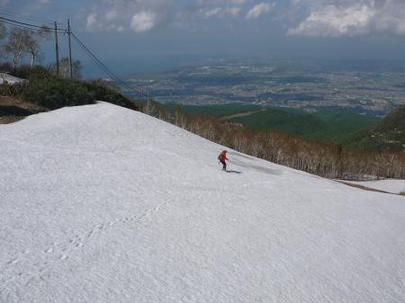 ショートスキーで颯爽とカッコいい!
