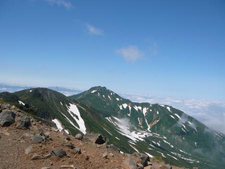 富良野岳と雲海