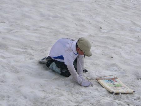 大活躍の「ななつぼし号」と雪まみれの息子