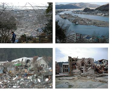 地震による揺れより津波の破壊力