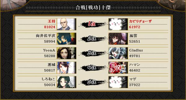 vs真田 終戦(防)3
