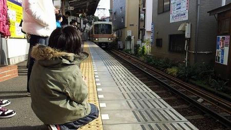 2012年最後の江ノ電