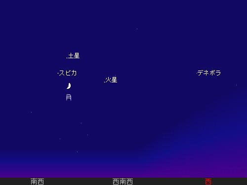 201207 25 お月さまお星さま星図