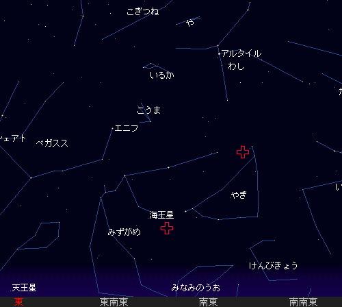 201207 28 7月の流星群星図1