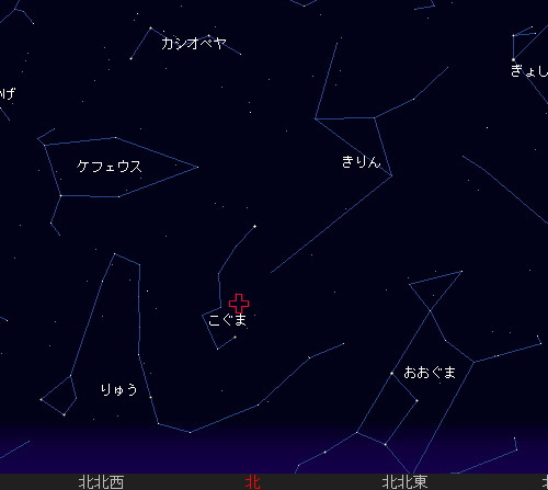201212 22 こぐま座流星群星図1