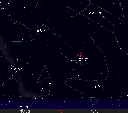 201212 22 こぐま座流星群星図2時