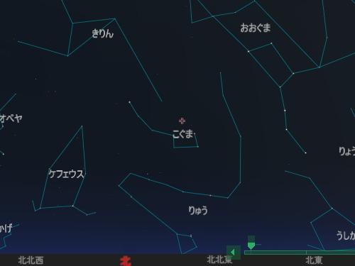201312 22 こぐま座流星群星図