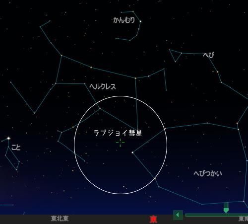 201401 4 しぶんぎ座流星群ラブジョイ星図