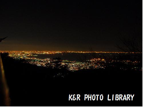 六甲山からの夜景