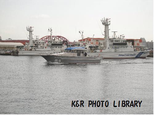 兵庫県警の船