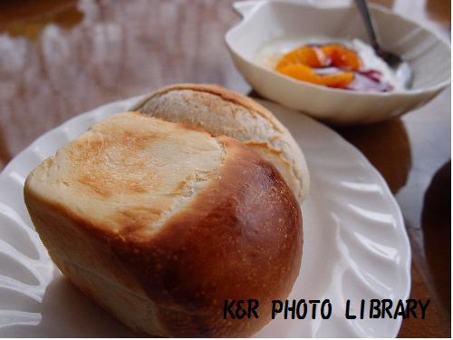 温かいパン
