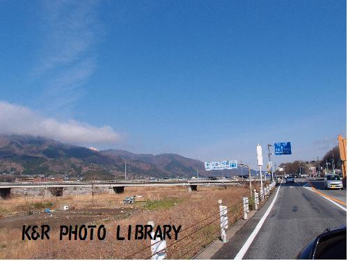 武田八幡宮方面へ
