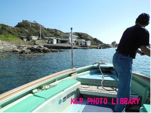 仁右衛門島の港