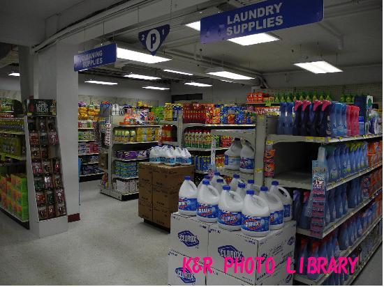 洗濯用品コーナー