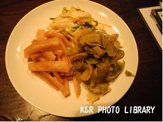 三色冷菜の盛合せ