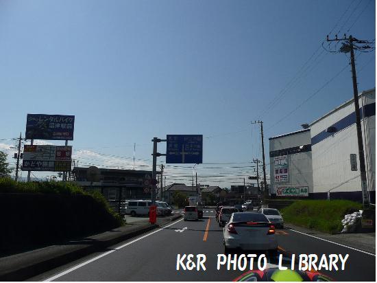 上石田の交差点