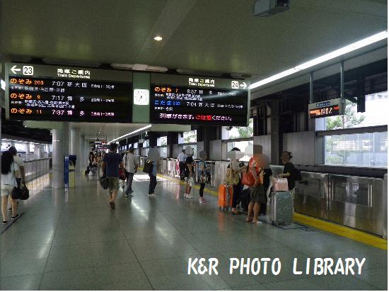 8月16日品川駅2