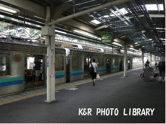 8月16日伊東線乗換