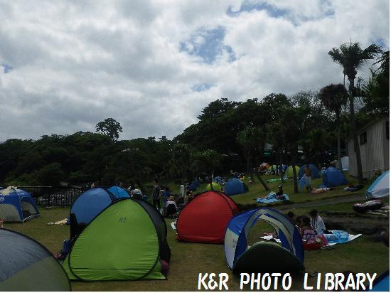 8月16日キャンプ場