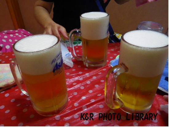8月16日唐辛子ビール