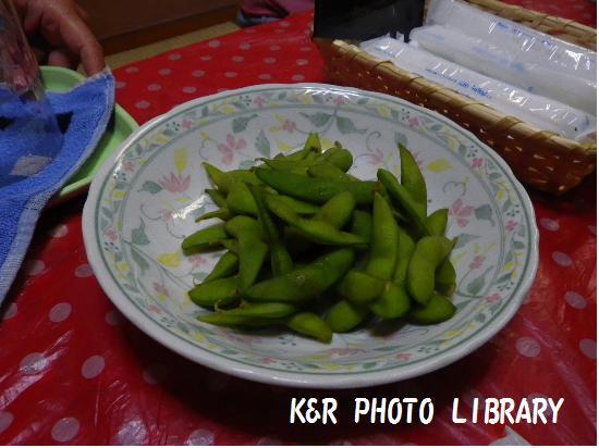 8月16日唐辛子枝豆
