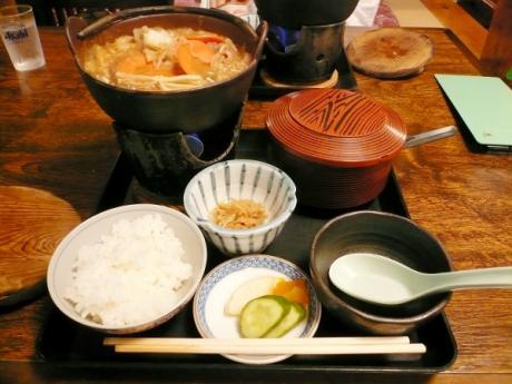 猪鍋 (一人前) + ご飯