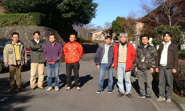 2003年関東トローラー箱根集合写真