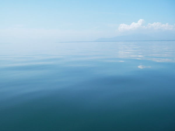 琵琶湖の干満