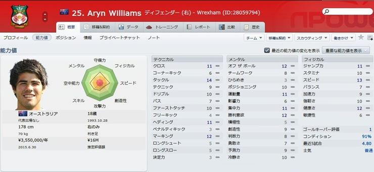 Aryn Williams2012
