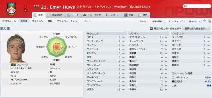 Emyr Huws2012