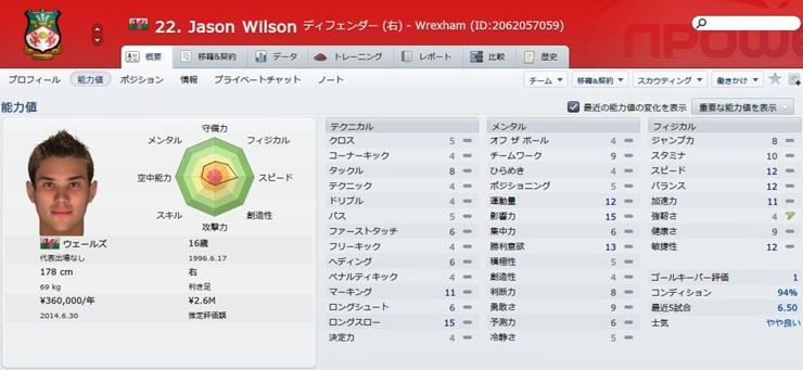 Jason Wilson2012