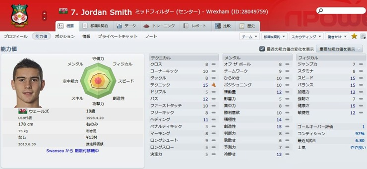 Jordan Smith2012
