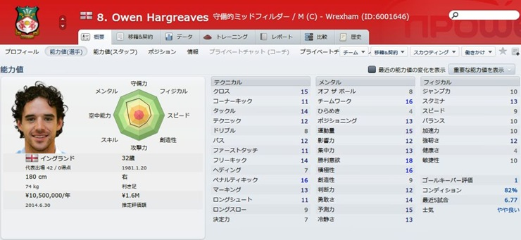 Owen Hargreaves2013